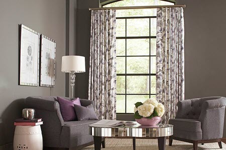 Design Trends for Window Coverings Near Huntington Beach, California (CA) like Draperies in Living Rooms