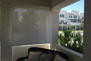 Exterior Shades in Lake Forest