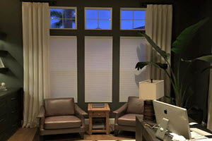 Honeycomb Blinds in Orange County