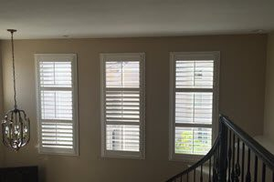 Beautiful Shutters in OC windows