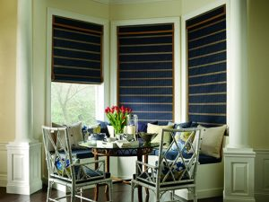 Choosing the Right Window Treatments Near Huntington Beach, California (CA) like Woven Woods for Dining Rooms