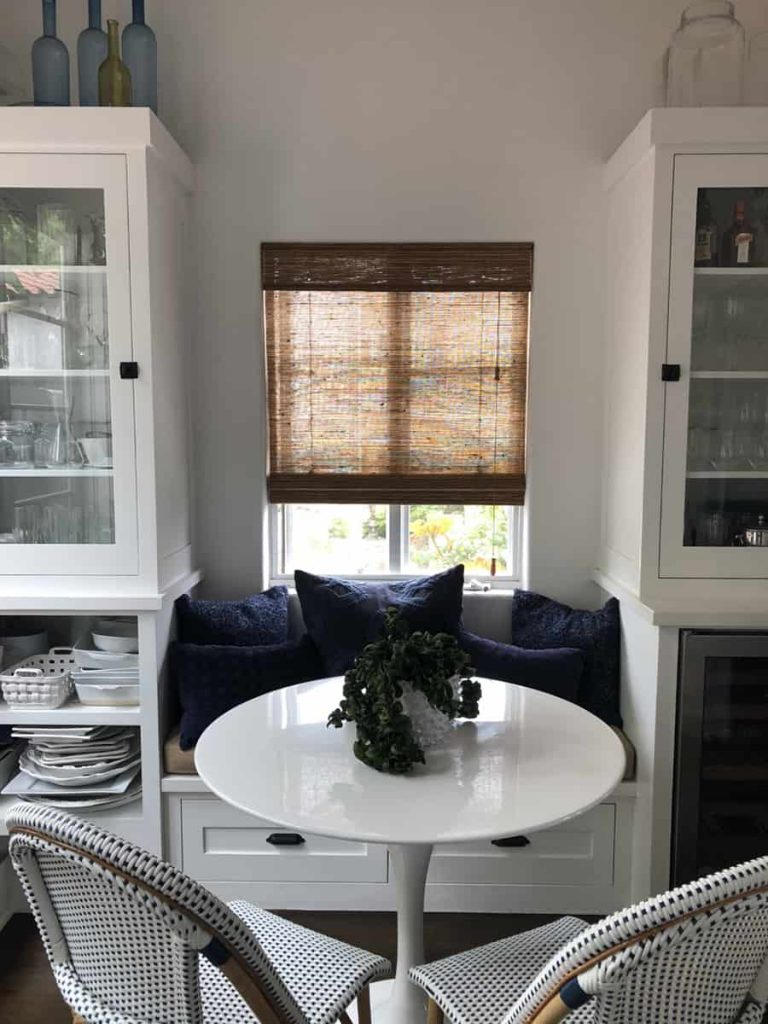 Custom Woven Roman Shades for Homes Near Huntington Beach, California (CA)