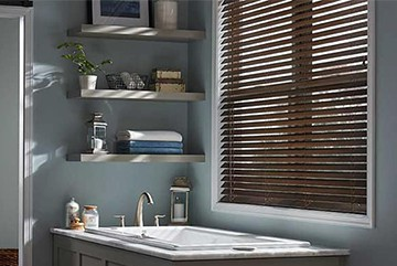 Custom Blinds for Bathrooms Near Huntington Beach, California (CA)