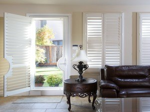 Upgrading Your Windows Near Huntington Beach, California, with Wood Shutters as a Living Room Design Option