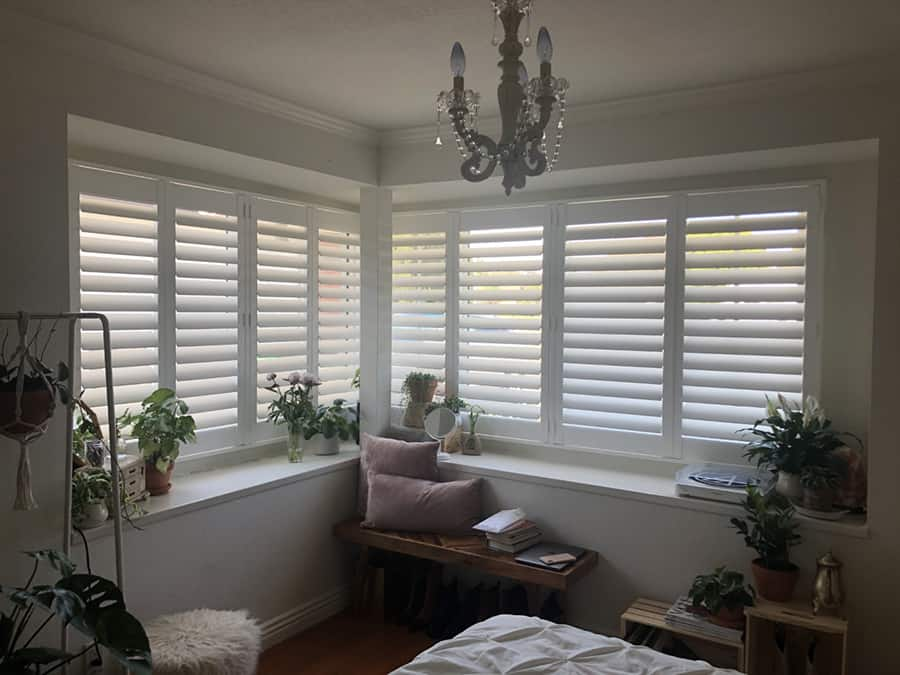 Plantation Shutters for Bedrooms Near Huntington Beach, California (CA)