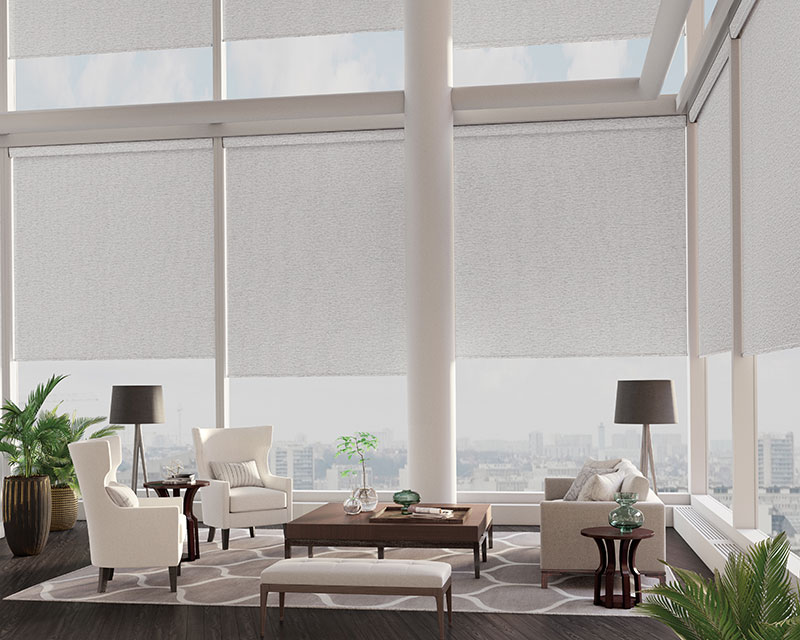 Lafayette Genesis® Roller Shades and window covers near Huntington Beach, California (CA) and other roller shades