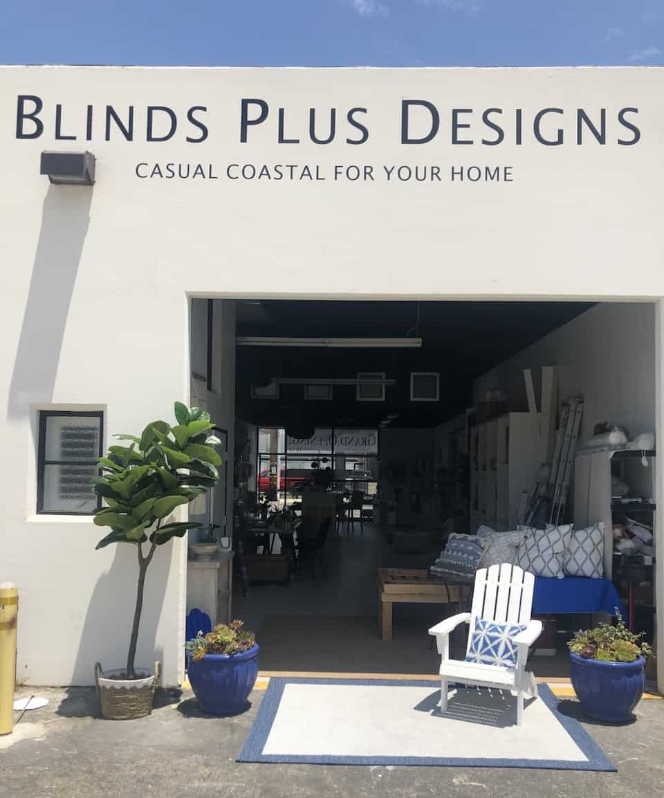 New Showroom - Blinds Plus Designs Now Located at 1619 Alabama Street in Huntington Beach, California (CA)